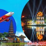 Tuyển đại lý bán vé máy bay Hà Nội đi Bali hãng Vietjet
