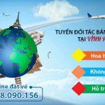 Duy Đức tuyển đối tác bán vé máy bay tại Vĩnh Phúc