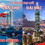 Vietjet Air mở đường bay mới Cần Thơ – Đài Bắc