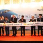 Vietnam Airlines khai trương đường bay giữa Hà Nội và Ma Cao