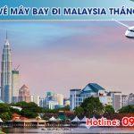 Giá vé máy bay đi Malaysia tháng 3
