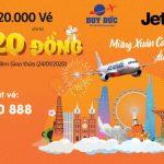 Jetstar mở bán 2.020.000 vé máy bay giá từ 2.020 đồng đêm giao thừa