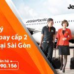 Mở đại lý vé máy bay cấp 2 Jetstar tại Sài Gòn