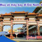 Mua vé máy bay đi Đài Nam (TNN) Đài Loan tại Bình Dương như thế nào?