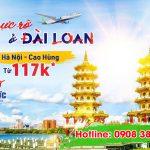 Bamboo Airways mở bán đường bay mới Hà Nội – Cao Hùng