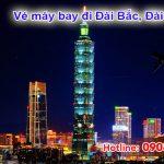 Đại lý bán vé đi Đài Bắc (TPE) Đài Loan tại Vĩnh Long