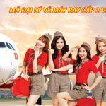 Mở đại lý vé máy bay Cấp 2 Vietjet Air tại Sài Gòn