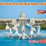 Mua vé máy bay đi Đài Nam (TNN) Đài Loan tại Sóc Trăng như thế nào?