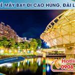 Ở Cần Thơ đặt vé máy bay đi Cao Hùng (KHH) Đài Loan được không?