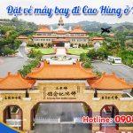 Ở Lâm Đồng đặt vé máy bay đi Cao Hùng (KHH) Đài Loan được không?