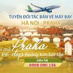 Tuyển đại lý bán vé máy bay Hà Nội đi Praha (CH Séc) hãng Bamboo Airways