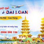 Tuyển đối tác bán vé máy bay Hà Nội đi Cao Hùng hãng Bamboo Airways