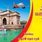 Tuyển đối bán vé máy bay TPHCM đi Mumbai hãng Vietjet