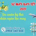 Vé máy bay Tết 2021