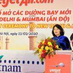 Vietjet công bố loạt 5 đường bay thẳng tới Delhi, Mumbai (Ấn Độ)