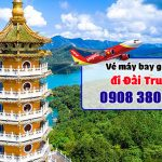 Đặt vé máy bay đi Đài Trung (RMQ) Đài Loan tại Tây Ninh