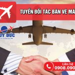 Duy Đức tuyển đối tác bán vé máy bay tại Phú Thọ
