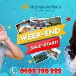 Vietnam Airlines ưu đãi giá vé cuối tuần