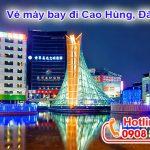 Ở Đồng Nai đặt vé máy bay đi Cao Hùng (KHH) Đài Loan được không?