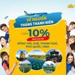 Vietnam Airlines giảm 10% các hành trình về nguồn