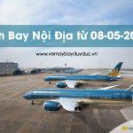 Tần Suất bay nội địa Vietnam Airlines từ 08-05-2020