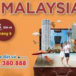 Giá vé máy bay đi Malaysia tháng 9
