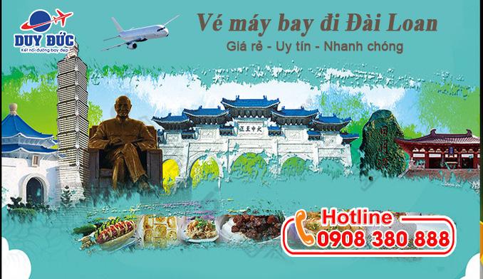 Khu vực quận Phú Nhuận mua vé máy bay đi Đài Loan chỗ nào
