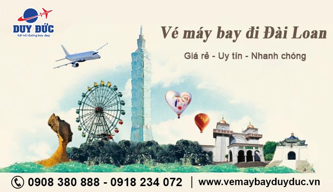 Tại Phú Yên mua vé máy bay đi Đài Loan ở đâu