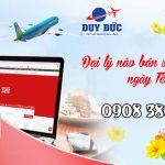 Đại lý nào bán vé máy bay ngày Tết ?