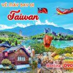 Quận 3 mua vé máy bay đi Đài Loan (Taiwan) chỗ nào?