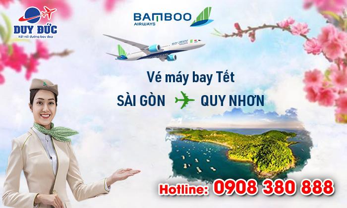 Vé Tết Sài Gòn Quy Nhơn hãng Bamboo Airways bao nhiêu tiền ?