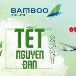 Bamboo Airways mở bán vé máy bay Tết Tân Sửu 2021
