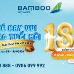 Bamboo Airways ưu đãi mừng sinh nhật 2 tuổi