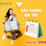 Đầu tháng giá tốt – Giảm tới 35% giá vé từ Vietnam Airlines