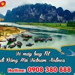 Vietnam Airlines vé Tết đi Đồng Hới bao nhiêu tiền ?
