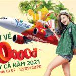 Vietjet mở bán 1,000,000 vé khuyến mãi giá từ 10,000 đồng