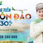 Bamboo Airways tiếp tục nối dài chuỗi tri ân ưu đãi bay Côn Đảo