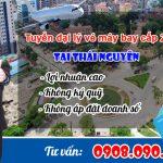 Tuyển đại lý cấp 2 bán vé máy bay tại Thái Nguyên miễn phí
