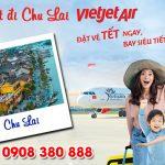 Vé Tết Vietjet Air đi Chu Lai bao nhiêu tiền ?