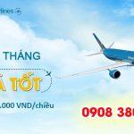 Vietnam Airlines Đầu tháng giá tốt chỉ từ 69,000 đồng/chiều