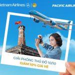 Vietnam Airlines giảm 10% giá vé nhân ngày Giải phóng Thủ đô