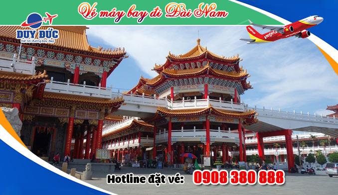 Mua vé đi Đài Nam (TNN) Đài Loan tại Hồ Chí Minh như thế nào