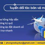 Tuyển đối tác bán phòng vé máy bay Duy Đức tại Lào Cai