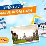 Tuyển Cộng tác viên bán vé đi Đài Loan giá rẻ