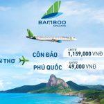 Bamboo Airways mở bán đường bay Cần Thơ – Côn Đảo và Cần Thơ – Phú Quốc
