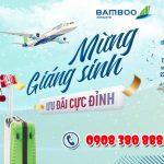 Bamboo Airways ưu đãi mừng Giáng sinh