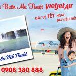 Vé Tết Vietjet Air đi Buôn Mê Thuột bao nhiêu tiền ?