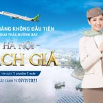 Bamboo Airways khai thác đường bay Hà Nội – Rạch Giá