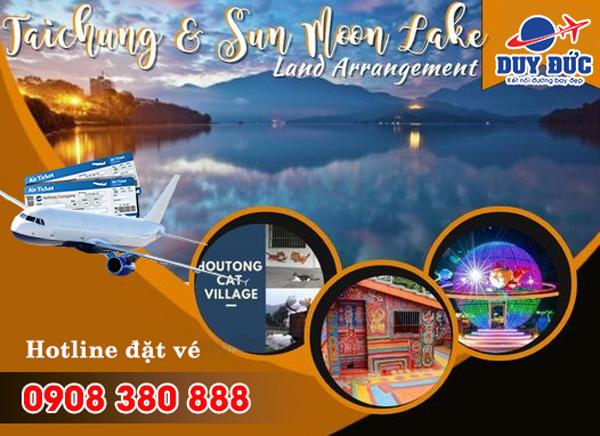 Đặt vé máy bay đi Đài Trung (RMQ) Đài Loan tại Nghệ An