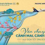 Pacific Airlines nhận vận chuyển mai, đào dịp Tết Tân Sửu 2021